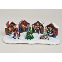 Weihnachtsmarkt mit 4...