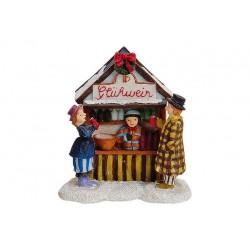 Weihnachtsmarktstand GLÜHWEIN